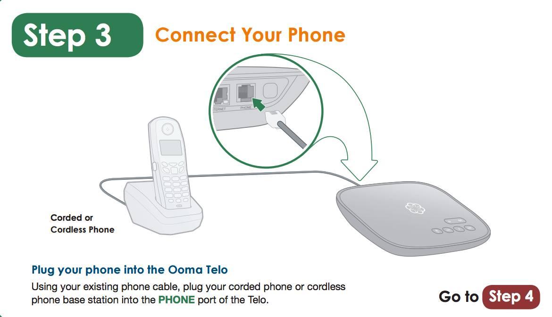 ooma telephone setup
