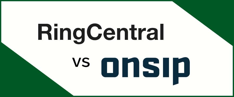 RingCentral vs OnSIP